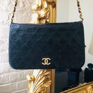 100%AUTH CHANEL Classic 2.35 Full Flap Bag